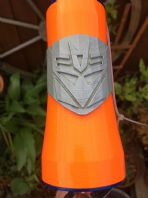 Transformers Decepticon Headtube Badge